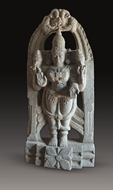 Picture of STONE SCULPTURE OF GODDESS LAKSHMI