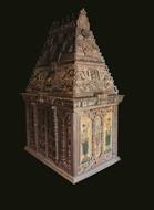 Picture of 'VEETU KOYIL' (Home Temple) / Sculpted in Wood
