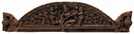 Picture of WOODEN CARVING/SCULPTURE DEPICTING SARASWATI
