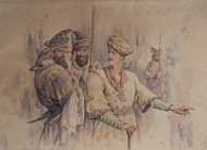 Picture of COMPANY SCHOOL PAINTING