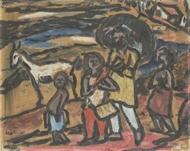 Picture of KRISHNAJI HOWLAJI ARA (1914 - 1985) / K H ARA
