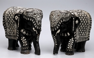 Picture of Carved Elephants (Rosewood)