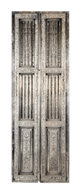 Picture of SILVER DOUBLE SHUTTER DOOR