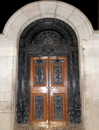 Picture of CARVED TEMPLE DOOR