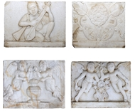 Picture of Four Makrana Marble Plaques