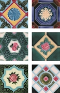 Picture of MAJOLICA TILES