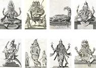 Picture of AVATARS OF HINDU DEITIES / Pierre Sonnerat