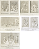Picture of FRENCH PRINTS of HINDU DEITIES