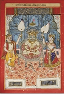 Picture of RAJASTHAN SCHOOL / PHAD PAINTING / ON CLOTH