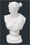 Picture of A Parian Ware bust of a female figure (lot 39)