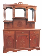 Picture of A solid Burma teakwood sideboard or bar cabinet (lot 45)