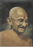 Picture of UNKNOWN ARTIST (Painting of Gandhi)