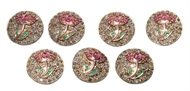 Picture of An impressive set of seven Sherwani Buttons