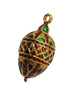 Picture of A traditional south-Indian (Probably Chettinad) Mango shaped Pendant