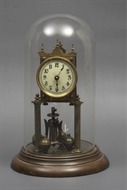 Picture of An enamel dial mantle clock