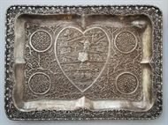 Picture of A rectangular Colonial Silver tray
