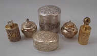 Picture of A very fine collection of six European pattern silver