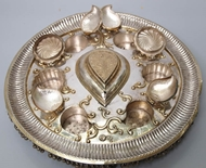 Picture of An attractive Rajasthani Silver Ceremonial Pandaan