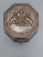 Picture of A very attractive Rajasthani Silver and partially gilded Ittardhan