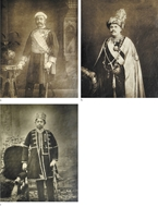 Picture of MAHARAJAS ( Attributed to Vernon ) C. 1900