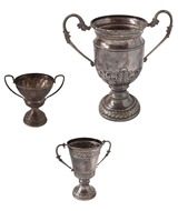 Picture of A collection of three sports trophies