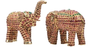 Picture of Elephants in 22 carats Gold