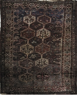Picture of A Khamseh or Qashqai Rug