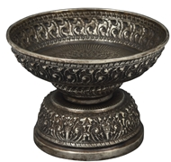Picture of A Burmese silver fruit bowl