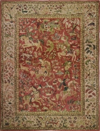 Picture of A fine pictorial Kashan Style Carpet