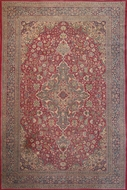 Picture of A very fine intricately hand woven woolen Amritsari Carpet