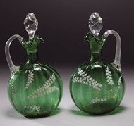 Picture of A pair of fine green Venetian