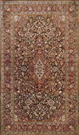 Picture of A very exquisite and intricately hand woven Indian wool carpet