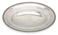 Picture of A French silver pierced oval basket