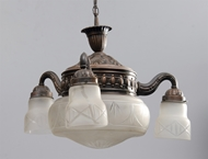 Picture of A French ceiling light