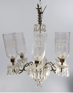 Picture of A six-arm chandelier