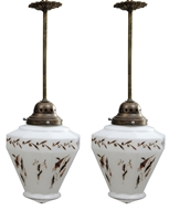 Picture of A pair of ceiling lamps