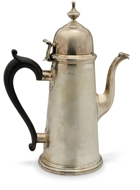 Picture of A Georgian style silver coffee pot