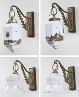 Picture of Two pairs of wall light fittings