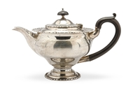 Picture of A silver bachelor's teapot