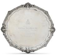 Picture of A silver presentation salver