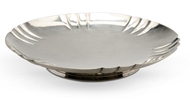 Picture of A silver shallow dish