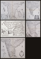 Picture of A Series of Early Printed Maps of India in Facsimile