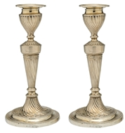Picture of A pair of late Victorian desk candlesticks