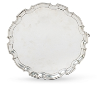 Picture of A silver salver