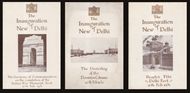 Picture of EPHEMERA RELATING TO THE INAUGURATION OF NEW DELHI, (1931)