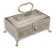 Picture of A fine south Indian jewellery box