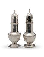 Picture of A George V silver caster