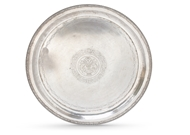 Picture of An Indian silver salver