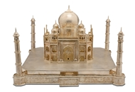 Picture of A very fine north-Indian silver (probably Agra) model of the Taj Mahal