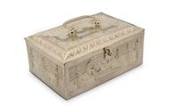 Picture of A very fine Kerala (Travancore) silver jewellery box